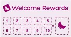 Welcome rewards