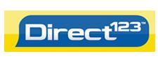 Direct123 logo