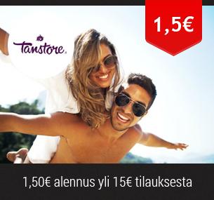 1,5 euron alennus