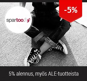 5% alennus