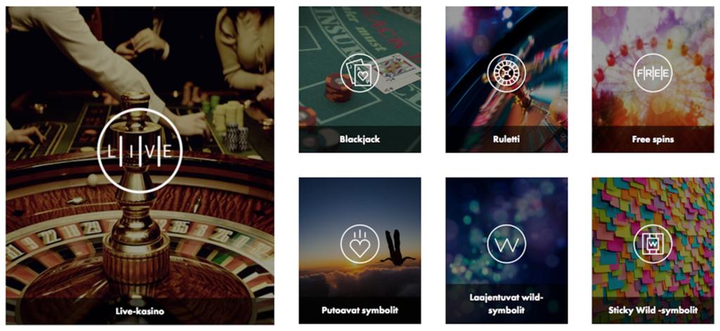 dunder-casino-pelivalikoima