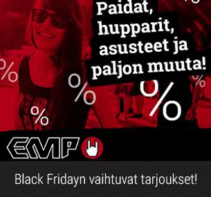 Black Friday tarjoukset + ilmainen toimitus