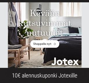 10€ alennuskuponki uutiskirjeen tilaajille