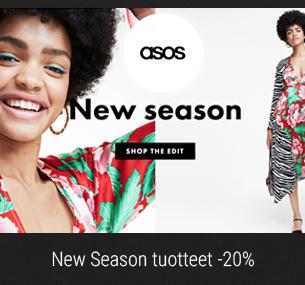 20% alennus New Season tuotteista